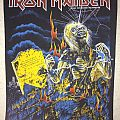 Iron Maiden - Patch - Iron Maiden - Life After Death backpatch; circa 1985