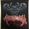 Benediction - Patch - Benediction – Transcend the Rubicon patch / Nuclear Blast Records; circa 1993