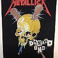 Patch - Metallica – Damage Inc. back patch; circa 1987