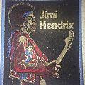 Vintage Jimi Hendrix woven patch
