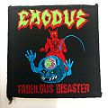 Exodus - Fabulous Disaster patch; circa 1988