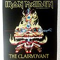 Iron Maiden - The Clairvoyant Backpatch; circa 1988