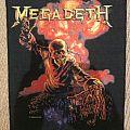 Megadeth back patch; circa 1987