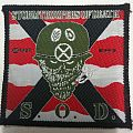 S.O.D. – Speak English or Die patch; circa 1987 – B.M.S.