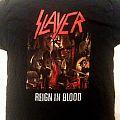 Slayer - Reign In Blood tour shirt; circa ????