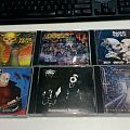 CDs ive been listening to at work this week: Nuclear Assault – Survive, Cranium – Speed Metal Sentence, Pungent Stench – Been Ca