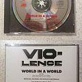 Vio-Lence - World in a World CD promo single; circa 1990 Tape / Vinyl / CD / Recording etc