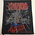 Kreator - Patch - Kreator - Extreme Aggression patch; 1990 Drakkar Promotion
