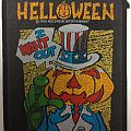Helloween - Patch - Helloween – I Want Out – 1988 Helloween Entertainment – official patch
