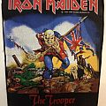 Iron Maiden - Patch - Iron Maiden - The Trooper backpatch; circa 1983