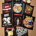 Various - Patch - My small back patch collection