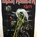 Iron Maiden - Patch - Iron Maiden - Killers Back Patch; circa 1981