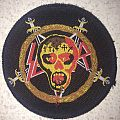 Slayer - Patch - Slayer - Seasons In The Abyss official patch; circa 1990