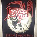 Death - Patch - Death - Individual Thought Patterns original backpatch; circa 1993