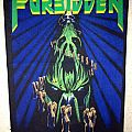 Forbidden - Patch - Forbidden - Twisted Into Form backpatch; circa 1990