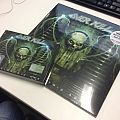Overkill - Tape / Vinyl / CD / Recording etc - Overkill – The Electric Age. Limited Green DLP and CD + DVD Media book