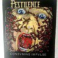 Pestilence - Consuming Impulse Backpatch; circa 1989