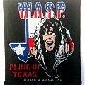 W.A.S.P. - Blind in Texas patch, circa 1986