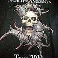 SEPULTURA Relentless Across North America 2012 Tour Shortsleeve Workshirt