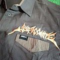 ASPHYXIATE Old Logo Shortsleeve Workshirt ( Kustom )