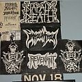 Napalm Death - Other Collectable - Old Flyers