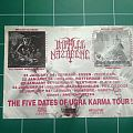 Impaled Nazarene flyer/tour dates Other Collectable