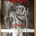 Massacra gig poster Other Collectable