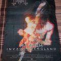 Mayhem - Other Collectable - Mayhem Invades England Flag 1997  Misanthropy Rec.
