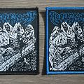 Repugnant - Draped In Cerecloth Patch (Both Borders)