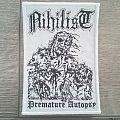 Nihilist - Premature Autopsy Patch (White Border)