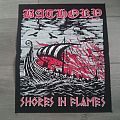 Bathory - Shores In Flames Back Patch
