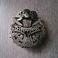 Dismember - Logo / Iron Cross Pin