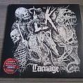 "Lik - Carnage 12"" Opaque Red / Black Splattered Vinyl + Poster Tape / Vinyl / CD / Recording etc"