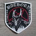 Bathory - Hordes Sweden Shield Patch (White Border)