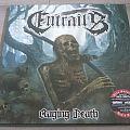 """Entrails - Raging Death 12"""" Red Vinyl + Poster"""