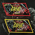 Grave - Patch - Grave - You'll Never See... Patch (Both Versions)