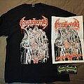Gravebomb - TShirt or Longsleeve - Gravebomb - Eaters Of The Dead T-Shirt & Print + Stickers
