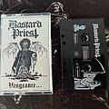 Bastard Priest - Vengeance... Tape + Patch & Sticker