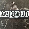 Marduk - Logo Strip Patch
