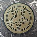 Marduk - Wolf / Pentagram - Plague Angel Patch