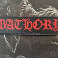 Bathory - Logo Strip Patch
