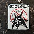 Bathory - Goat Design Patch