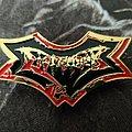 Dismember - Logo / Indecent & Obscene Pin Pin / Badge