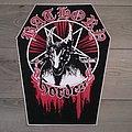 Bathory - Hordes Coffin Back Patch