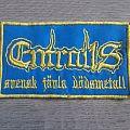 Entrails - Logo / Svensk Jävla Dödsmetall Patch