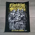 Carnal Tomb - Altar Of Horror Back Patch