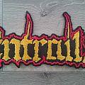 Entrails - Logo Back Patch