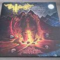 "Deathhammer - Evil Power 12"" Yellow / Blue Vinyl + Poster"