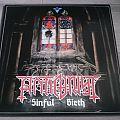 """Antichrist - Sinful Birth 12"""" Vinyl + Patch"""