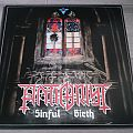 "Antichrist - Sinful Birth 12"" Vinyl + Patch"